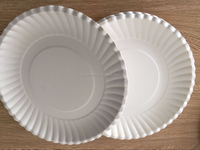 2016 hot sales disposable white cheap paper plates