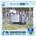 ONAF 66kv/6.3kv YNd11 Oil-immersed OLTC Power Transformer