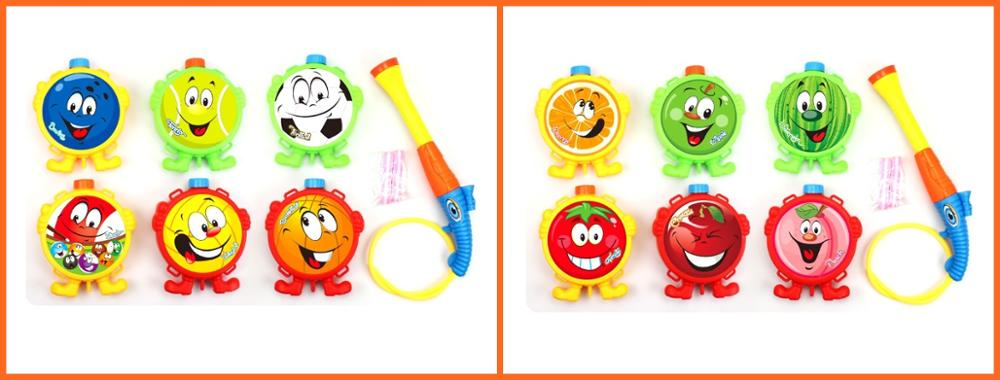 Hight quality powrful water toy gun with backpack for children play