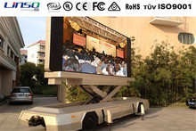 China Direct Factory Customized Mobile LED TV Display Trailer/ Mobile Billboard Advertising Scooter or Trailer for Sale