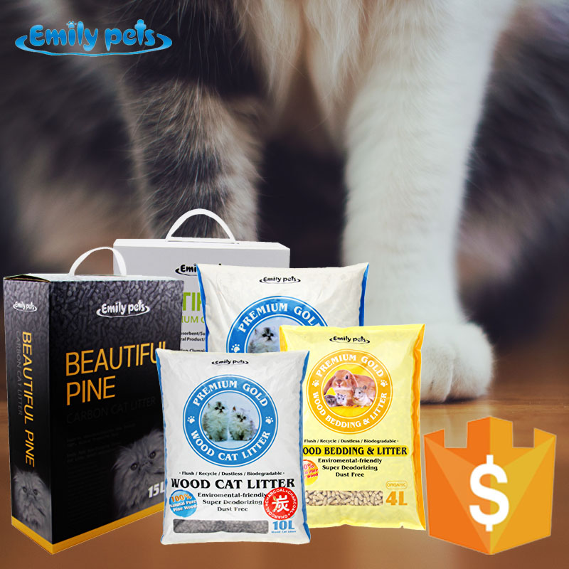Super absorbent pine cat litter sand for sale