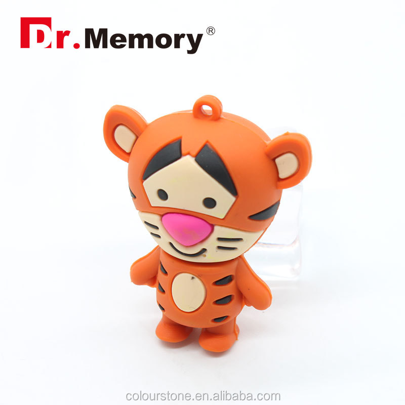 Dr.memory Winnie the Pooh bear toy 4GB 8GB 16GB 32GB 64GB USB Thumb Memory Stick PenDrive Cartoon Cute tiger USB Flash Drive