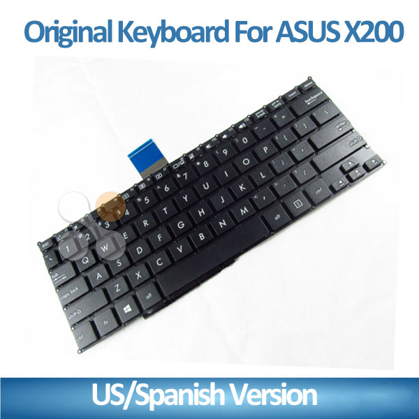 New laptop keyboard for Asus x200 notebook Keyboard with US UK SPANISH VERSION