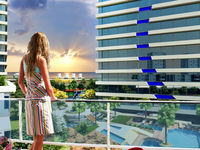 22 Storey Residence Tower New. 1+1 84M2 55,000 EUR