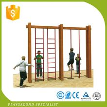 Elementary School Kids Play Plastic Playground Slide Set Material