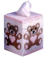 DIY goods,3D Cross stitch Embroidery.beautiful.Tissue Box-004-01