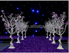 wedding walk way sliver tree artificial wedding centerpieces &party home decoration