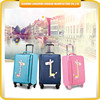 New product children travel luggage cartoon design trolley luggage for children