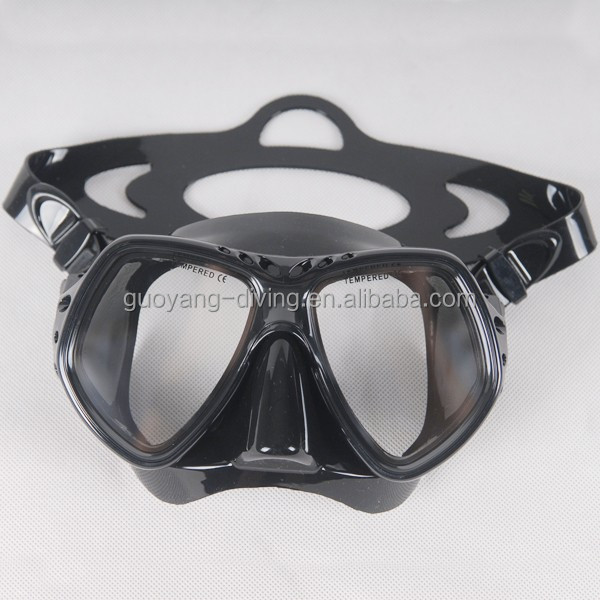 Scuba diving gears face mask diving, tempered glasses mask scuba dive, adult scuba diving mask professional