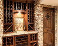 Navilla stacked stone veneer clading case----wine cellar