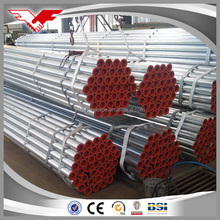 China supplier trade assurance manufacturing welded galvanized steel tube weight of gi pipe