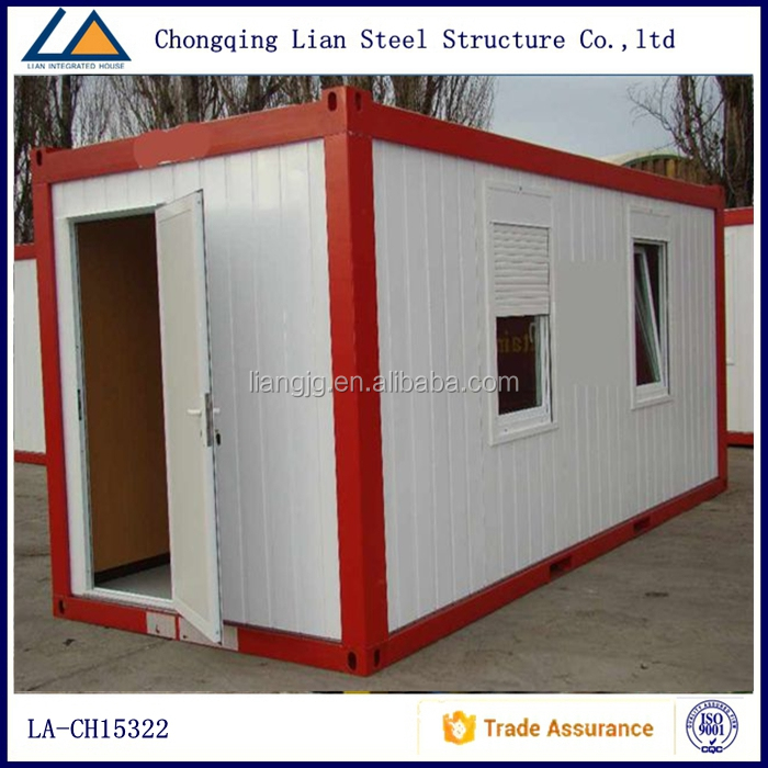 Mobile Home Cabin flat pack container house for sale
