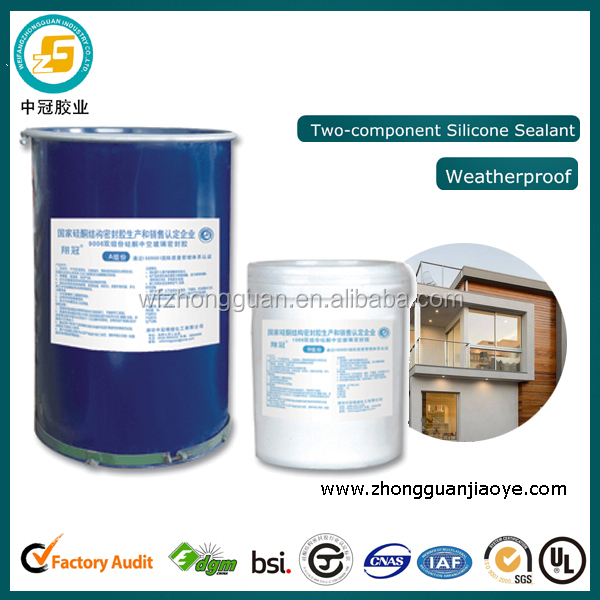 Netural Twao-component Silicone Insulating Glass Liquid Glue for Window and Door Frame