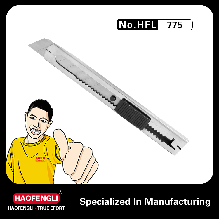 Stainless Steel Small Utility Knife and Craft Knife Blade Making Special Stationery Knife