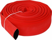 Weimin type-2B PP/PS red color painted fire hose