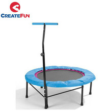 CreateFun Professional Adult Indoor Mini Fitness Trampoline with Handle