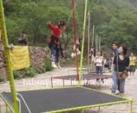 jumping bungee trampoline for Kid