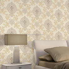 Europe Style Beautiful Bedroom and Living Room Decorative Foaming Economic Wallpaper 3d