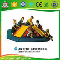 School education material baby soft play area with slides