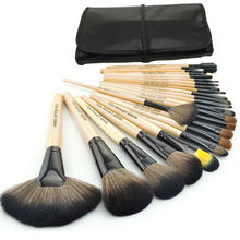 Professional 24pcs custom logo makeup brushes make up