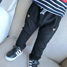 Baby Boy's Fashion Design Black Soft Harem Sports Pants In Cheap Price