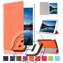 Wholesale Popular Three Folding flip tablet cover case For iPad mini 4 Tablet case cover