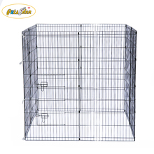 Eco Friendly Foldable Pet Pen Dogs Metal crate Square round Playpen yard fence