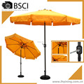 3M garden umbrella round crank open parasol promotion outdoor umbrella 10 feet patio parasol umbrella manufacturer china