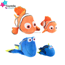 2016 Mini soft stuffed sea animal toys finding dory toy plush dory toy