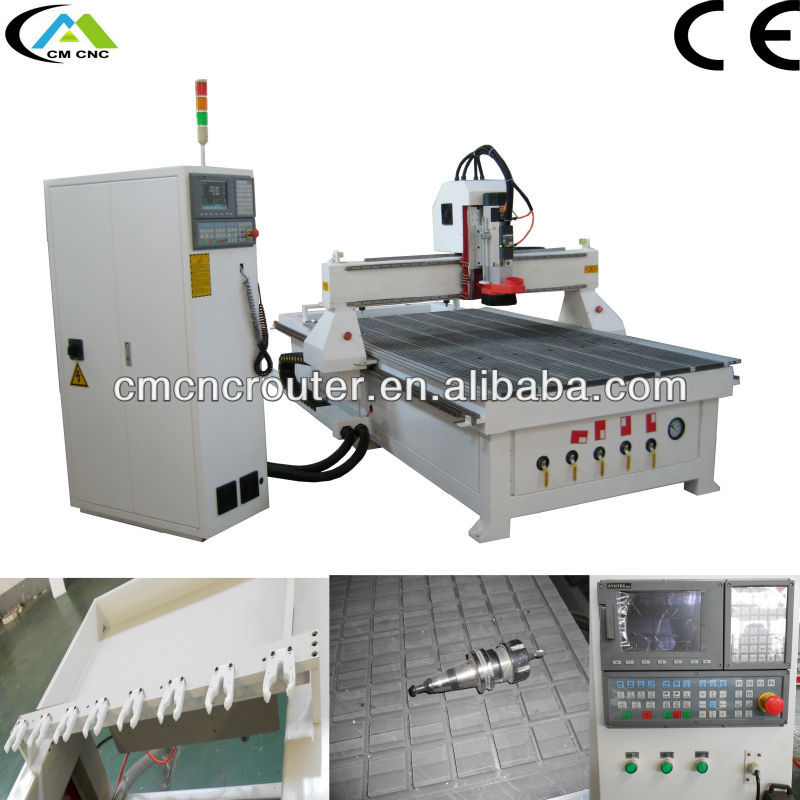 CM-1325 Italy HSD Spindle ATC CNC Router Machines With CE