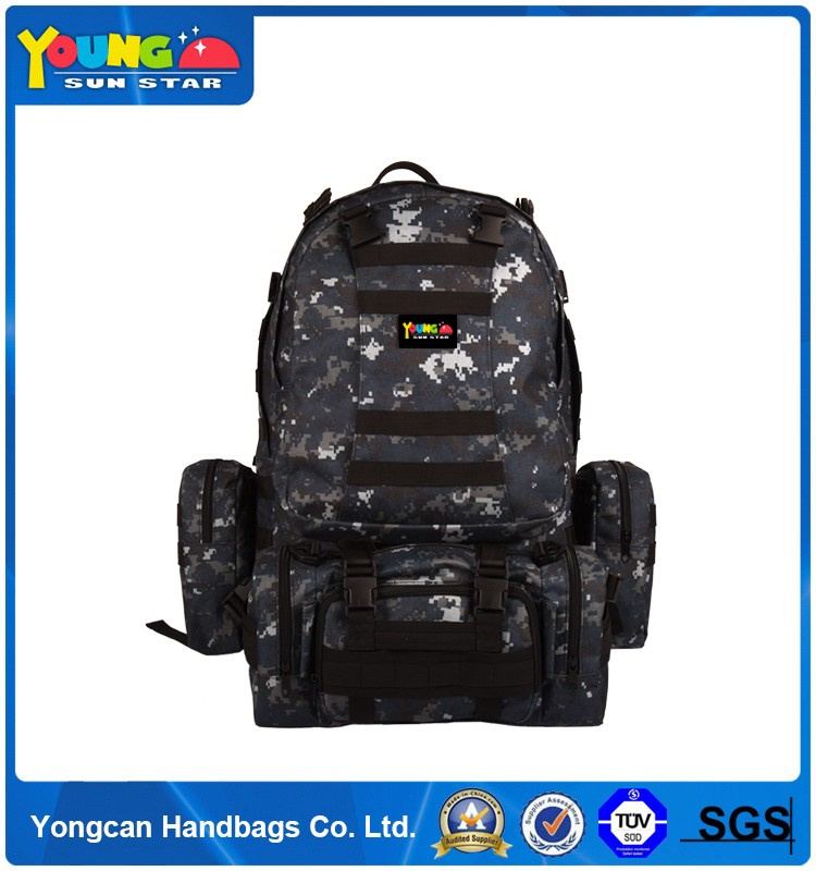 Wholesale High quality waterproof Nylon hiking backpack
