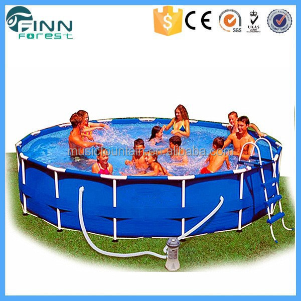 China Supplier Removable Metal Frame Adult or Baby Plastic Swimming Pool