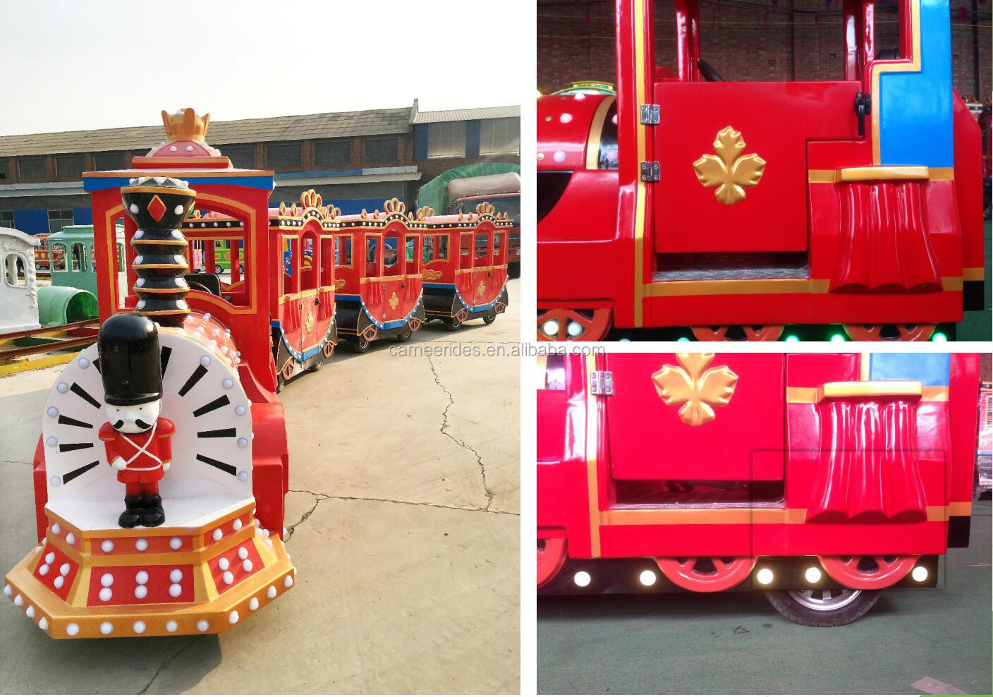 Popular Shopping Mall Kids Trackless Electric Tour Train