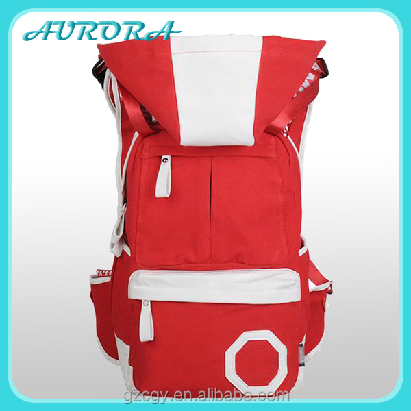 Wholesale China hooded bakcpack canvas teen Fashion backpack