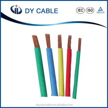 450/750V Single Copper Core PVC insulated BV wire for electrical appliances