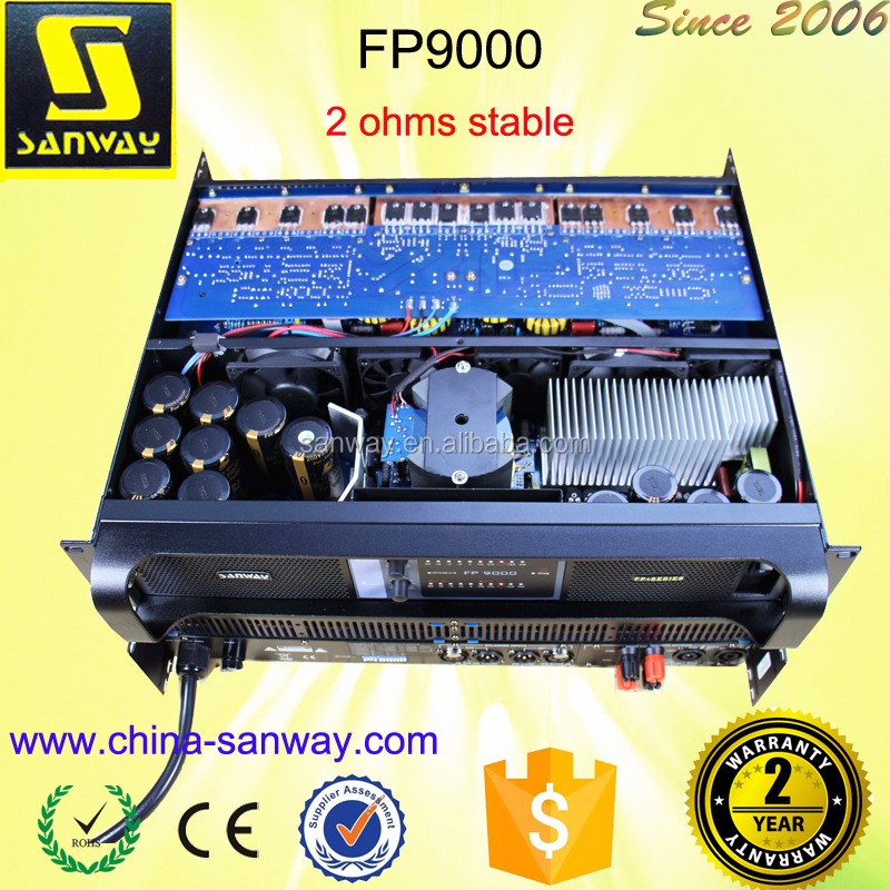 FP9000 Portable 2 Channel Switching High Power Home Audio Amplifier