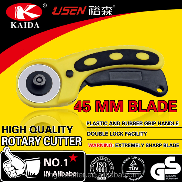 plastic handle 45mm fabric rotary cutter