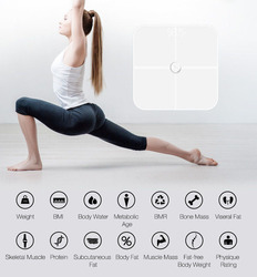 Smart Digital Home Health Body Fat WIFI Weighing Scale with Bluetooth WiFi App Body Compositon Monitor for Bathroom WMC20