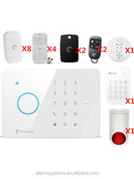 2016 New ! Multi-language menu Etiger S3B GSM Alarm system home safety Guard Alarm system burglar alarm system withAndroid/IOS