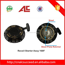 Black Generator engine parts recoil starter assy 168F