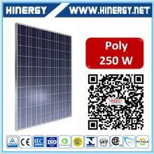 2016 hot sale 12v solar panel 250w use polycrystalline silicone 80w 100w 250w solar panel solar panel plant 250w