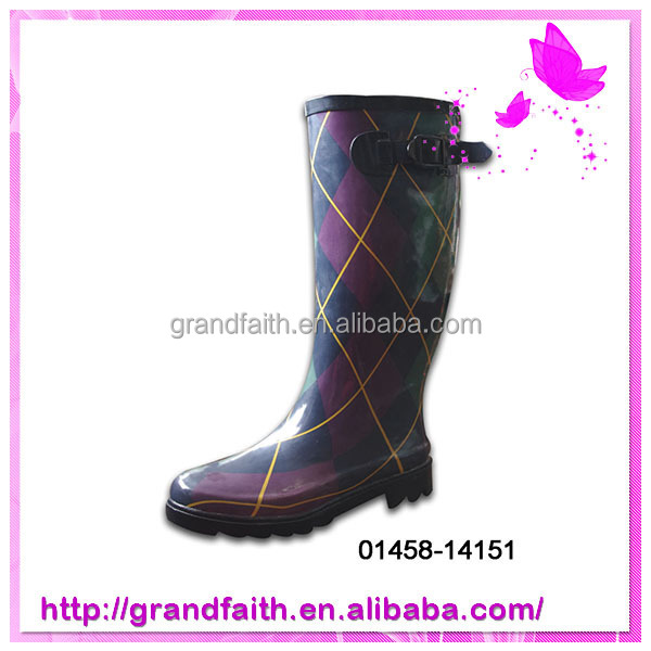 China Wholesale Custom work rain boot