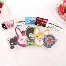 Customized Hanging Paper Dog Shape Car Air Freshener car perfume