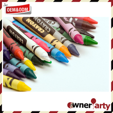 promotional wax crayon for children crayon set in bulk
