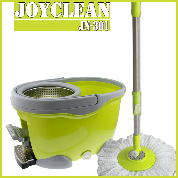 Joyclean JN-301 New PP Materials Cleaning Mop Wringer Bucket With Wheels For Floor Dust Cleaning