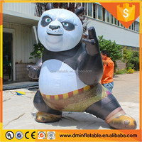 2016 top sale giant inflatable panda, inflatable animal replica, inflatable mascot