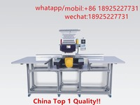 similar brother Big area single head embroidery machine used for cap/shoes/flat embroidery for sale