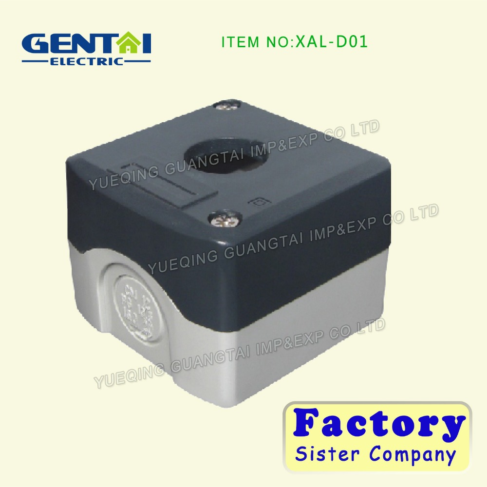2016 GENTAI High quality pushbutton switch box D01 Control box junction box