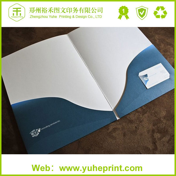 100% quality guarantee a4 a5 short run 250gsm coated art paper CMYK offset printing beautiful file folders