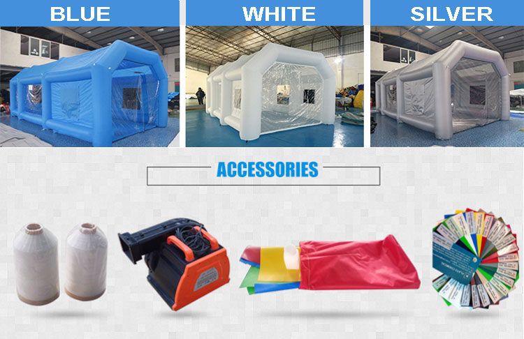 3 Years Warranty Giant Inflatable Car Garage Warehouse Tent